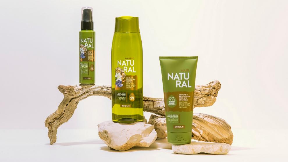 Natural es la nueva gama capilar de Deliplus, vegana y con un 97% de...