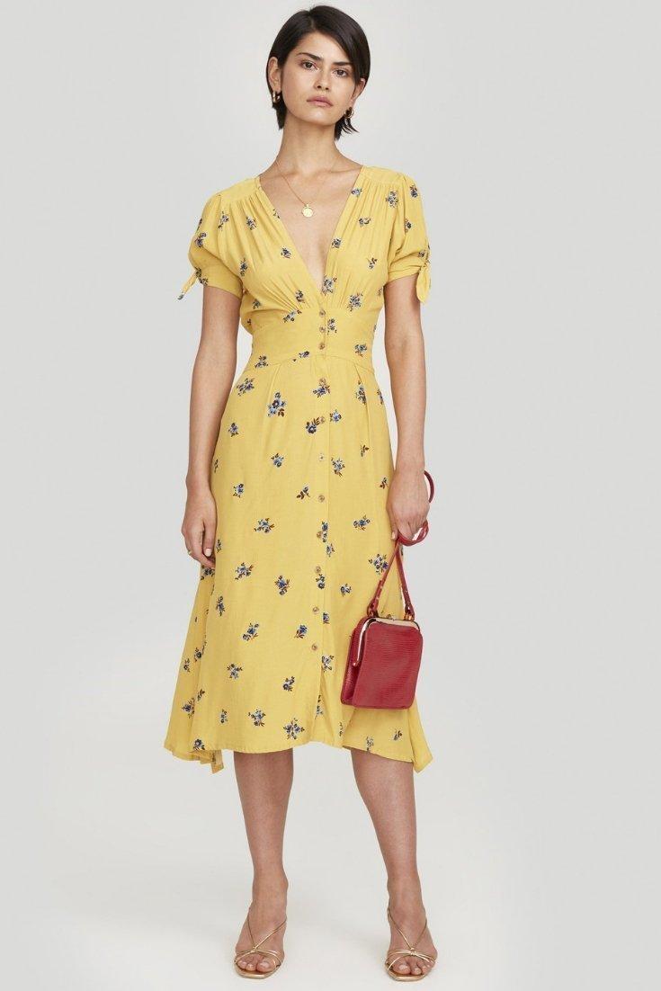 Vestido Billie Dolores de Faithfull the Brand (210 euros).