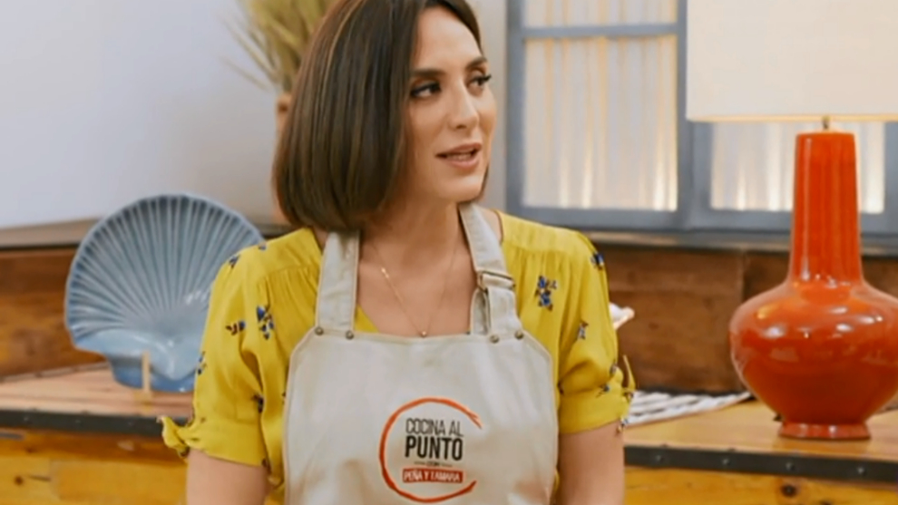Tamara Falcó en su programa Cocina al punto con Peña y Tamara con...