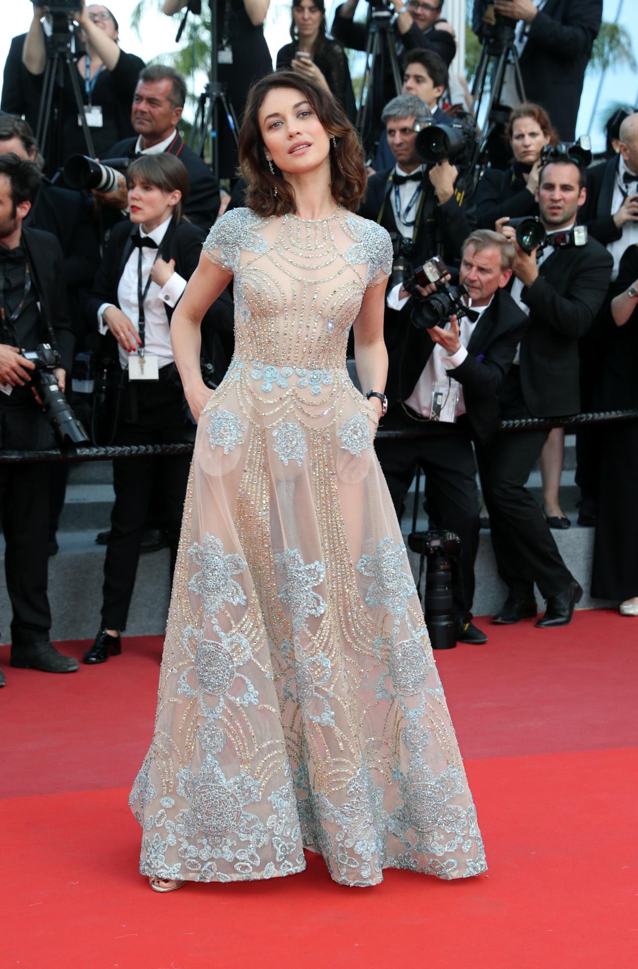 Olga Kurylenko es una habitual en las alfombras rojas de los festivales y premios internacionales de cine.