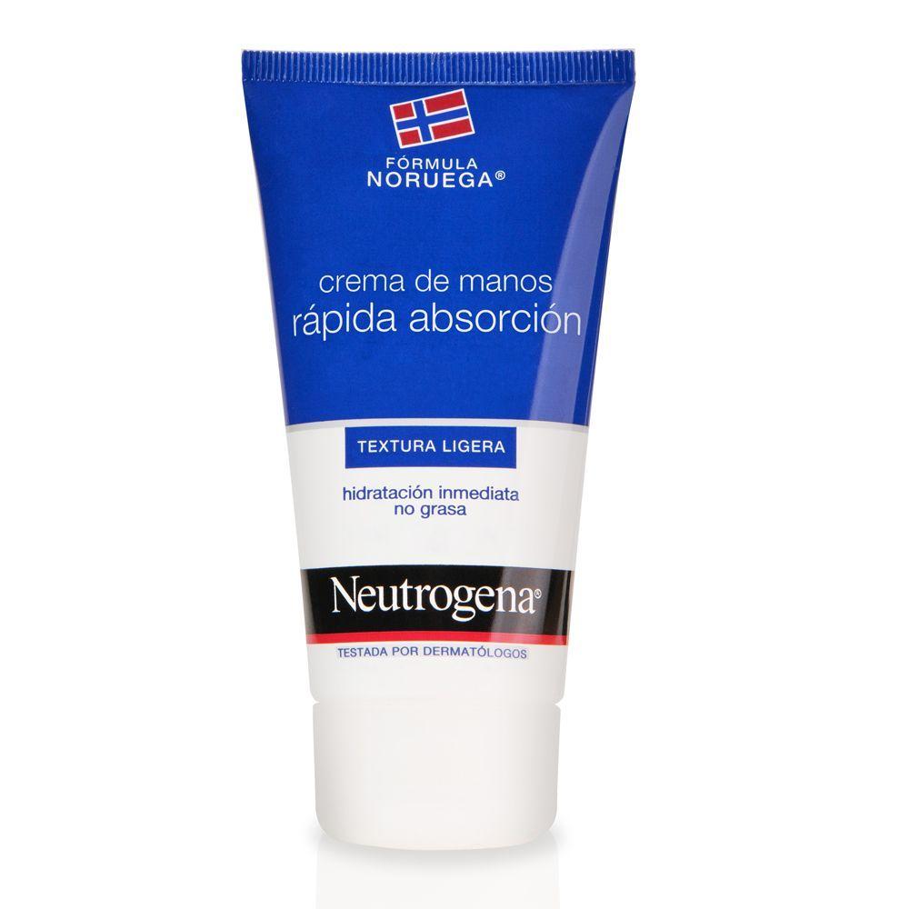 Crema de manos de absorción rápida de Neutrogena.
