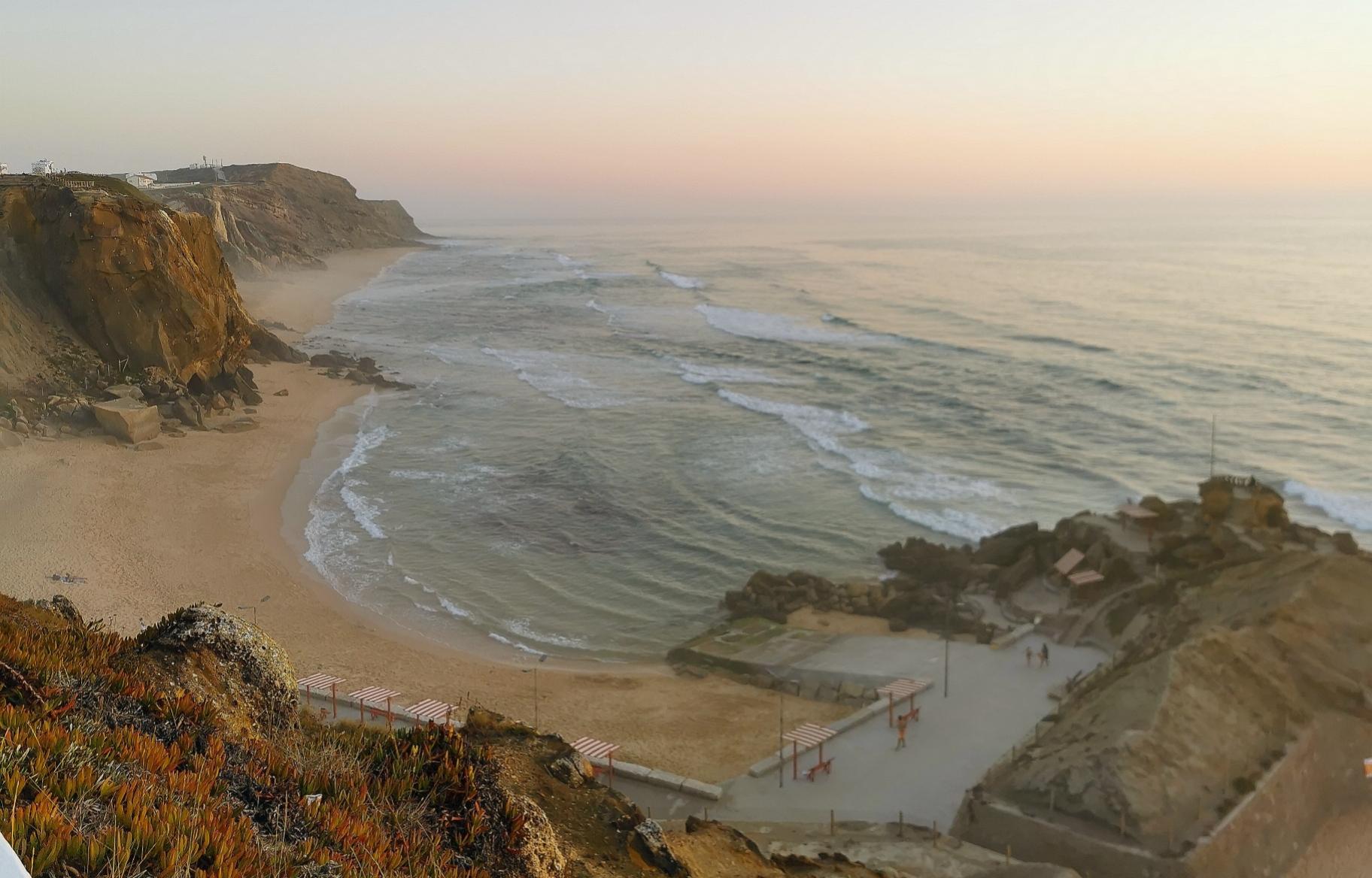 Praia de Sana Cruz, Portugal