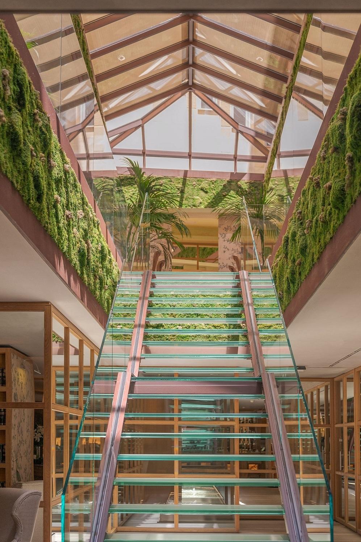El invernadero es una de las zonas más emblemáticas del hotel de...