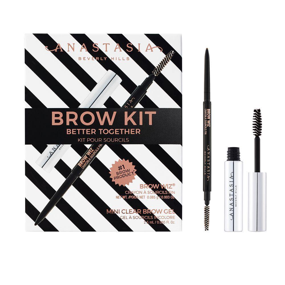 Better Together Brow Kit de Anastasia Beverly Hills (29,95 euros), un kit de cejas compuesto de lápiz Brow Wiz para dibujarlas y un gel transparente para fijarlas, Clear Brow Gel, el favorito de Jennifer Lopez. A la venta en Sephora.