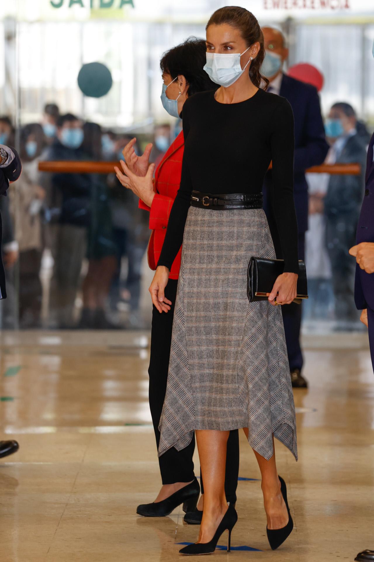 La reina Letizia en Galicia.