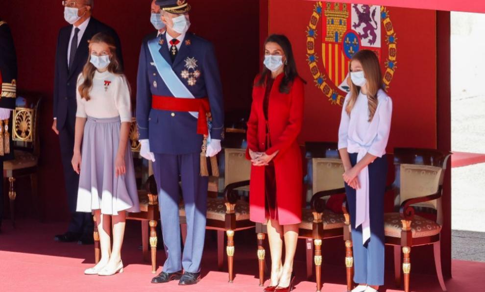 La Familia Real el día de la Hispanidad