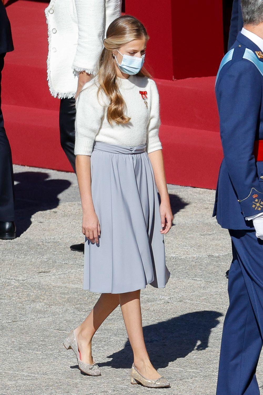 El look de la princesa de Asturias.