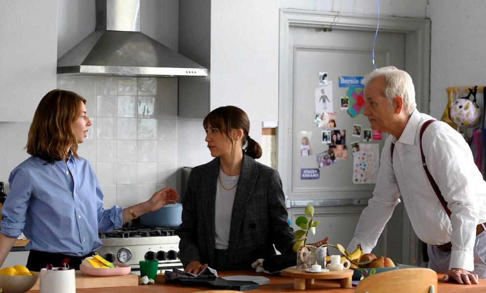"Sofia Coppola dirige a Bill Murray y Rashida Jones en ""On the rocks""."