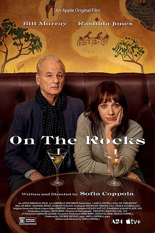 "Cartel de la película ""On the rocks""."