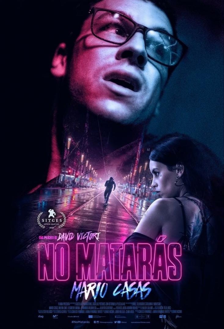 """Cartel de la película """"No matarás"""", dirigida por David Victori y protagonizada por Mario Casas."""
