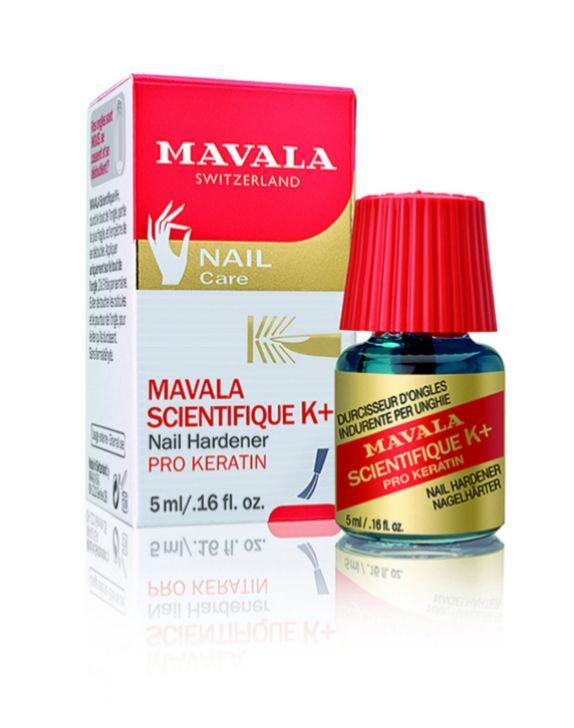 Endurecedor de uñas Mavala (12,75 euros).