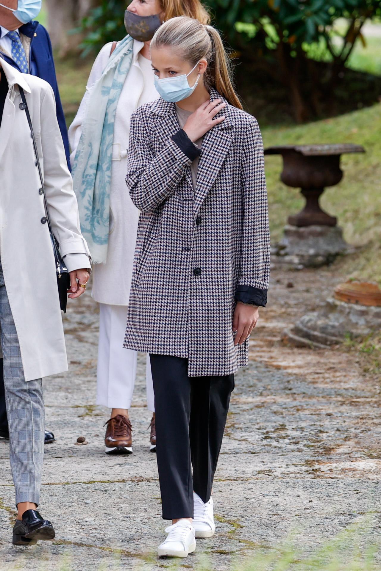 La Princesa de Asturias en Somao