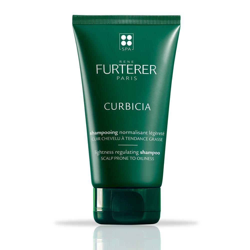 Champú normalizante Curbicia de René Furterer (16,10 euros) para eliminar el exceso de sebo del cuero cabelludo de tendencia grasa.