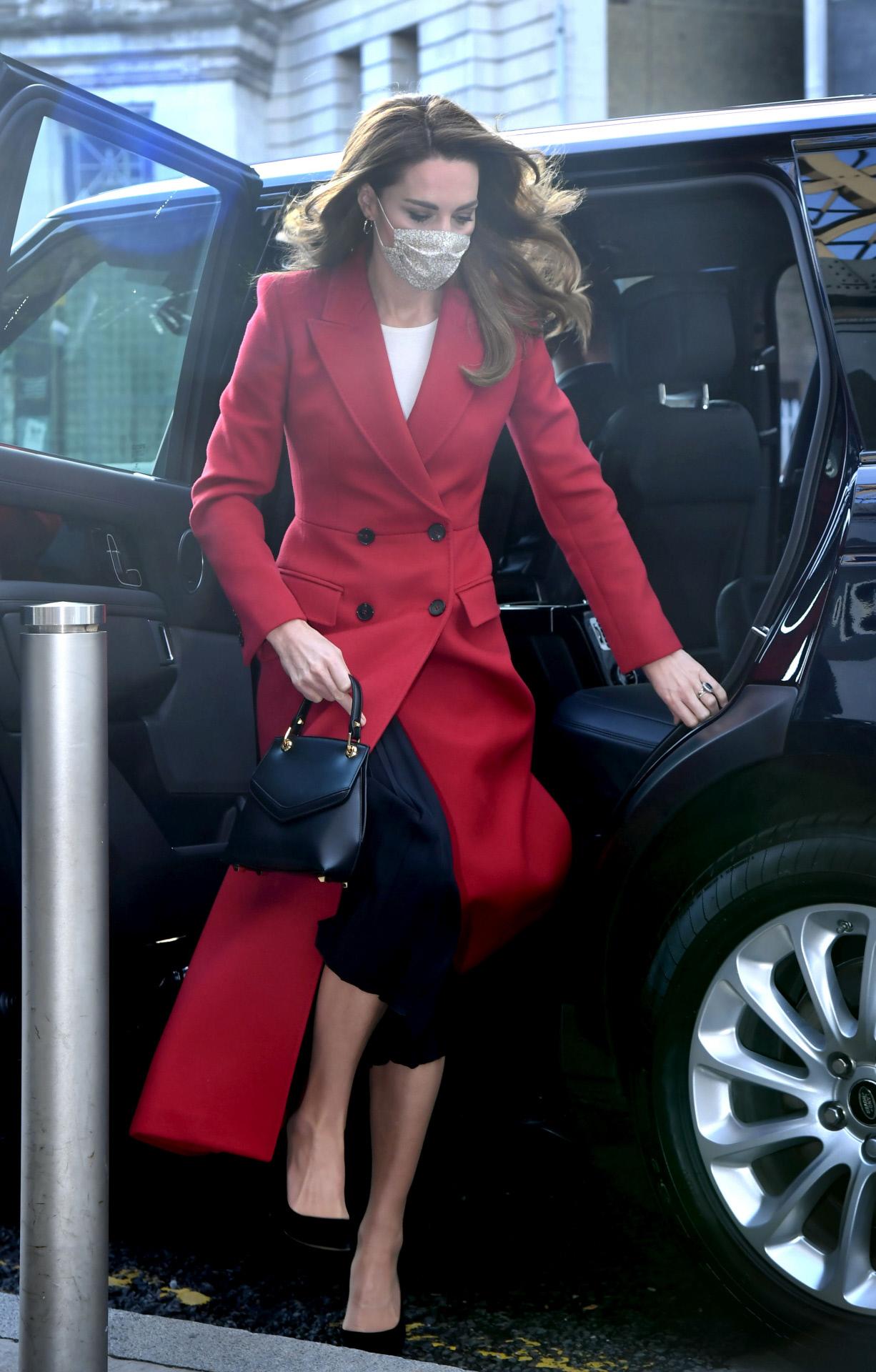Kate Middleton visita distintos puntos de Londres para conocer el proyecto que ella misma impulso, Hold Still.