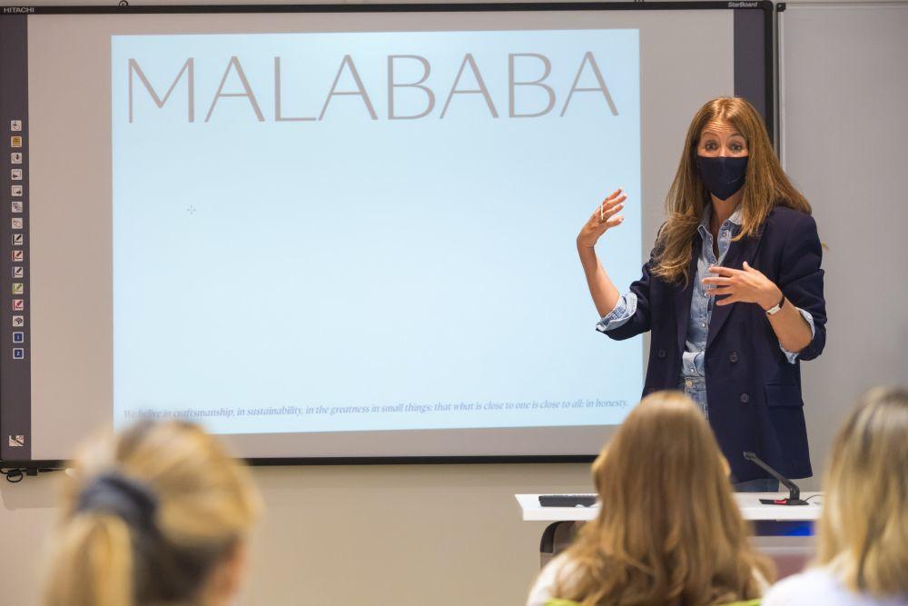 Ana Carrasco, fundadora y diseñadora de Malababa.