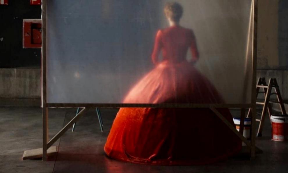 Tilda Swinton en La voz humana, de Pedro Almodóvar