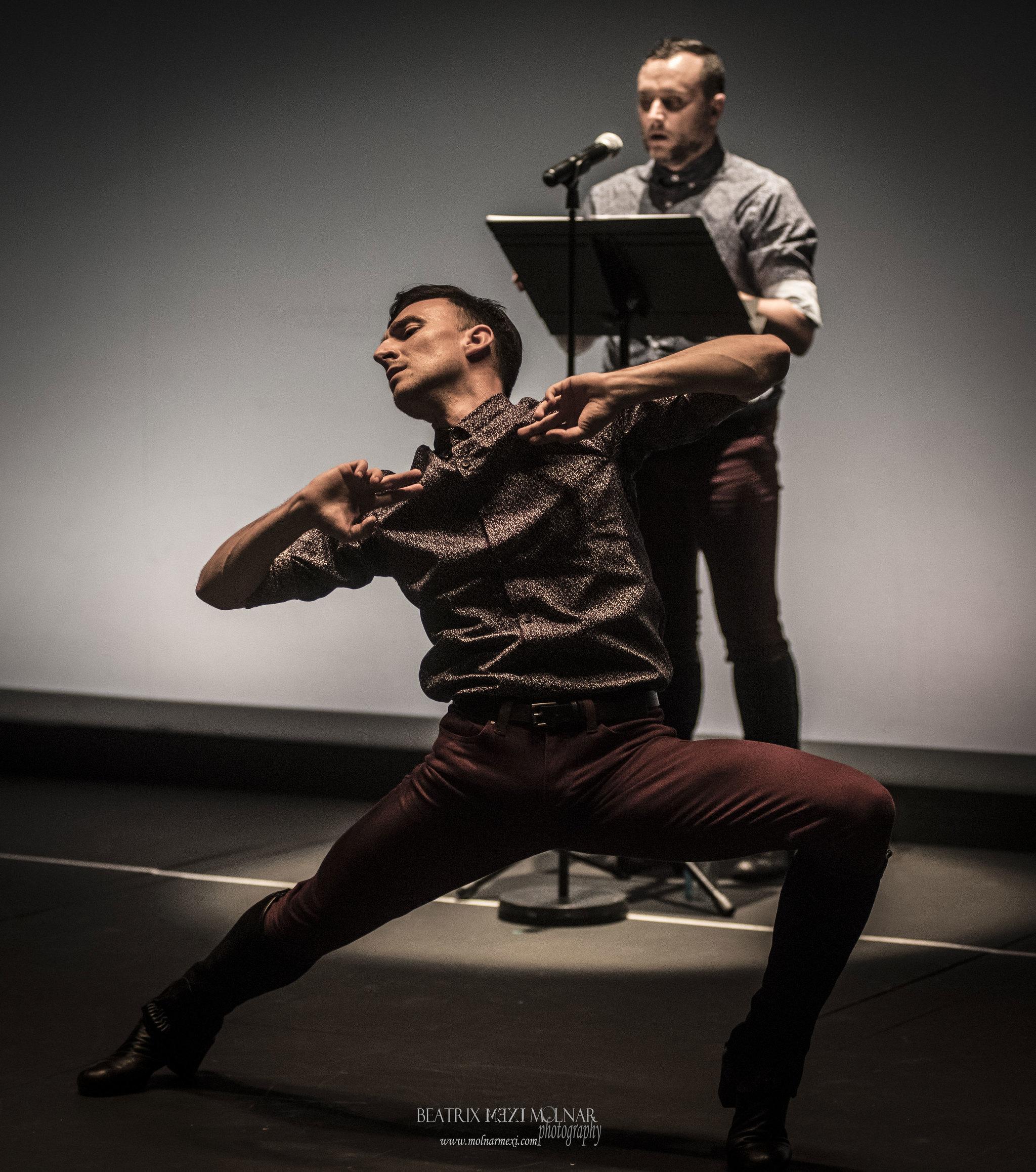 Daniel Dueña en Retrospectiva 2.0, en el Festival Dansat de Barcelona