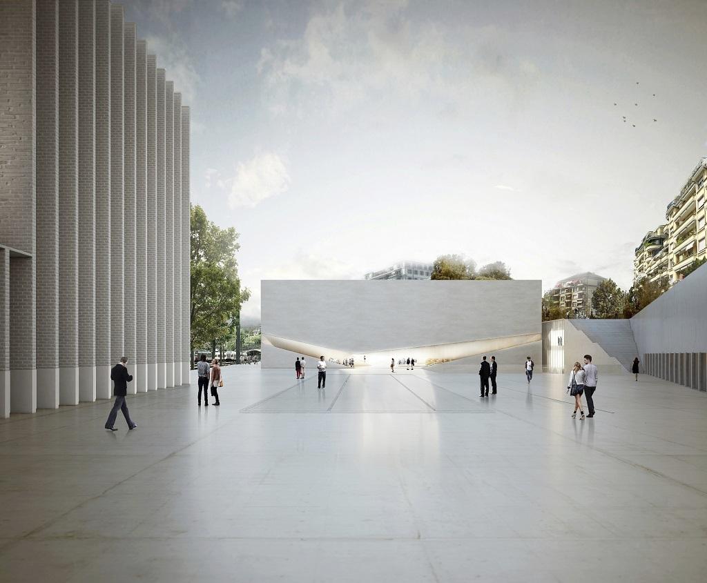 Proyecto de Museo Cantonal de Lausanne.