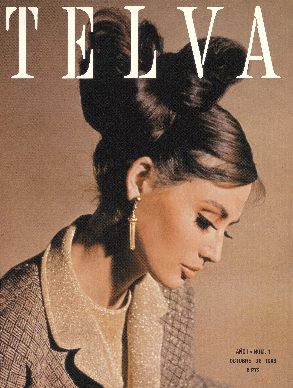 Primera portada de TELVA (octubre 1963) inspirada en Audrey Hepburn
