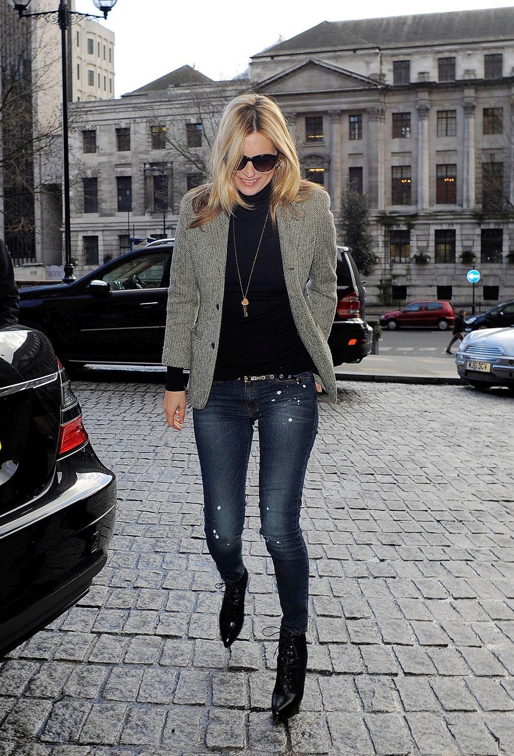 Kate Moss en pitillo.