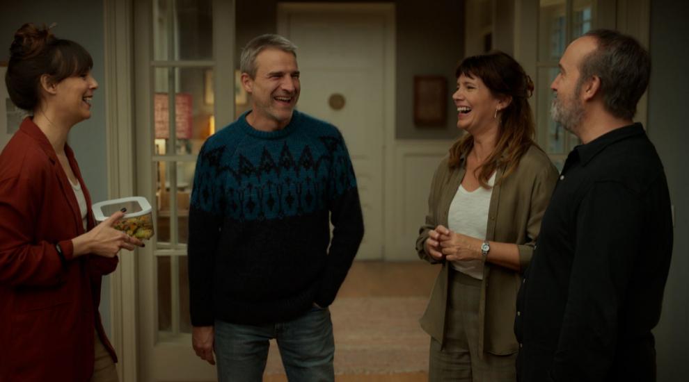 Los cuatro protagonistas de Sentimental, la nueva comedia de Cesc Gay.