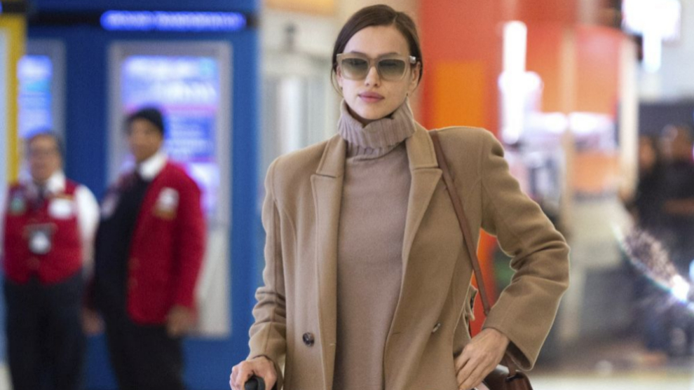 Irina Shayk nos inspira con sus looks de otoño.