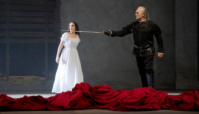 Don Giovanni, la ópera teatralizada de Mozart, en el Liceu de Barcelona.