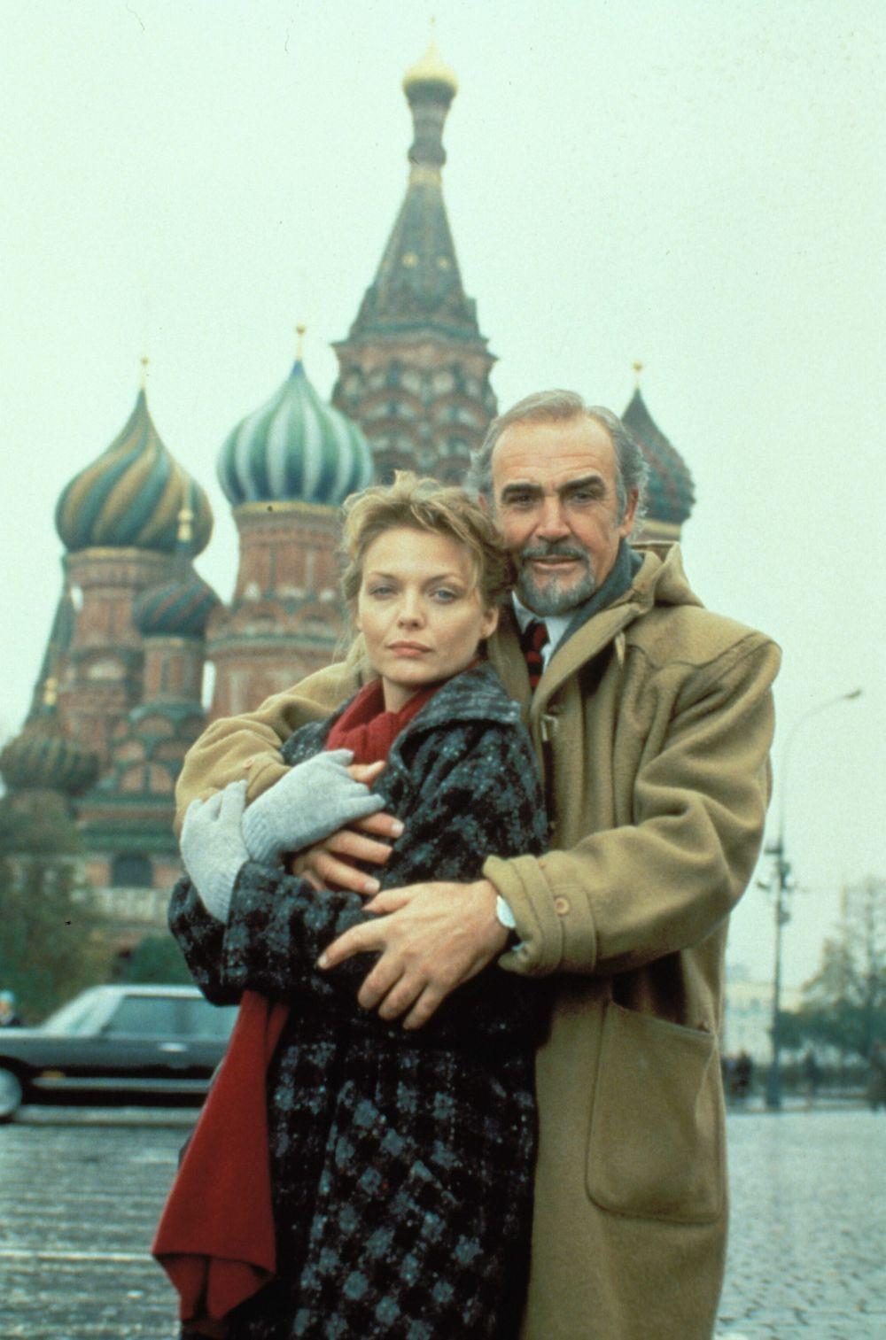 """Sean Connery junto a Michelle Pfeiffer en """"La Casa Rusia"""""""