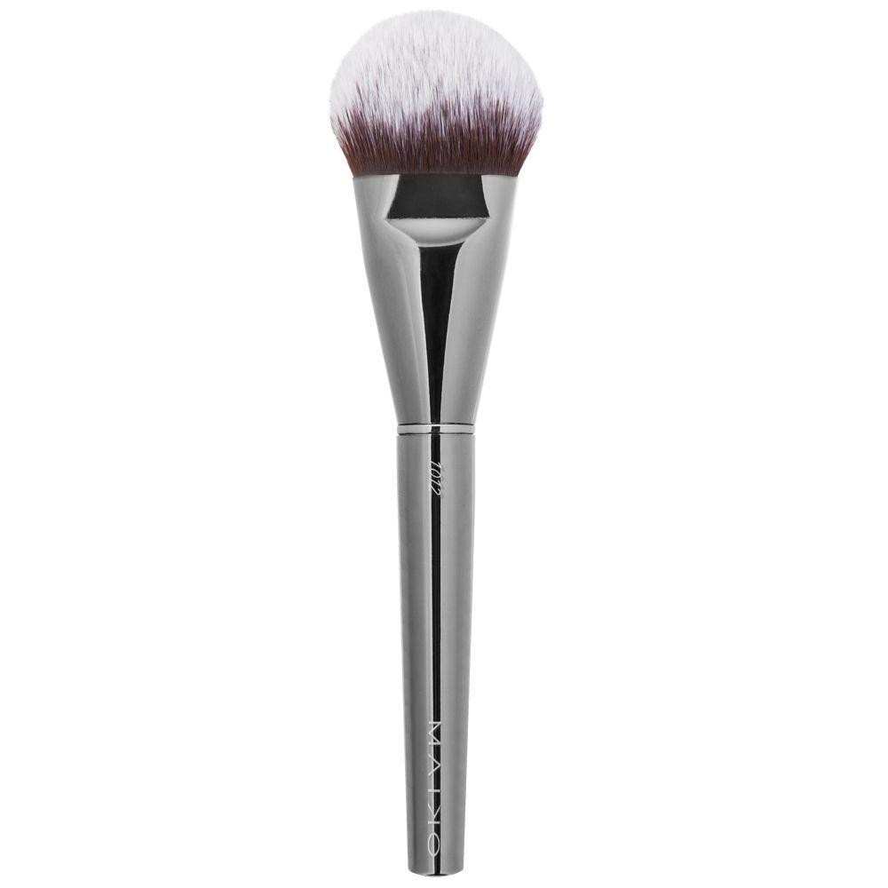 Brocha Luxury Grey 1002 para base de maquillaje para bases fluidas como cremosas de Maiko (8,99 euros).