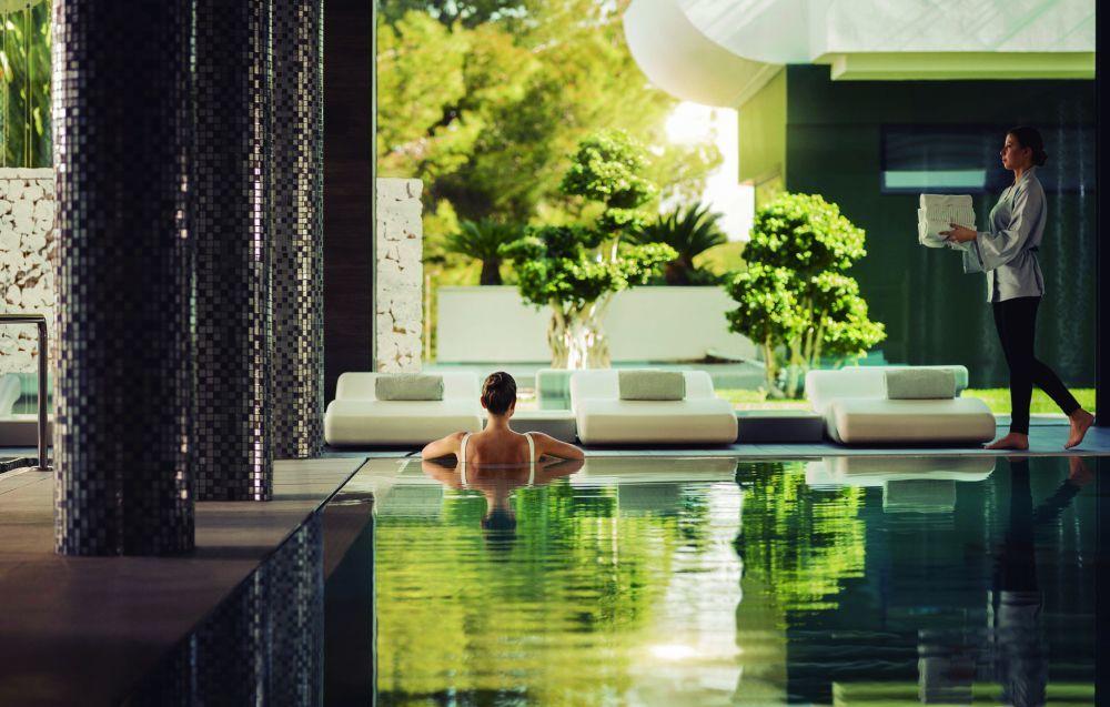 El spa y circuito de hidroterapia es uno de los grandes reclamos de Sha Wellness Clinic.