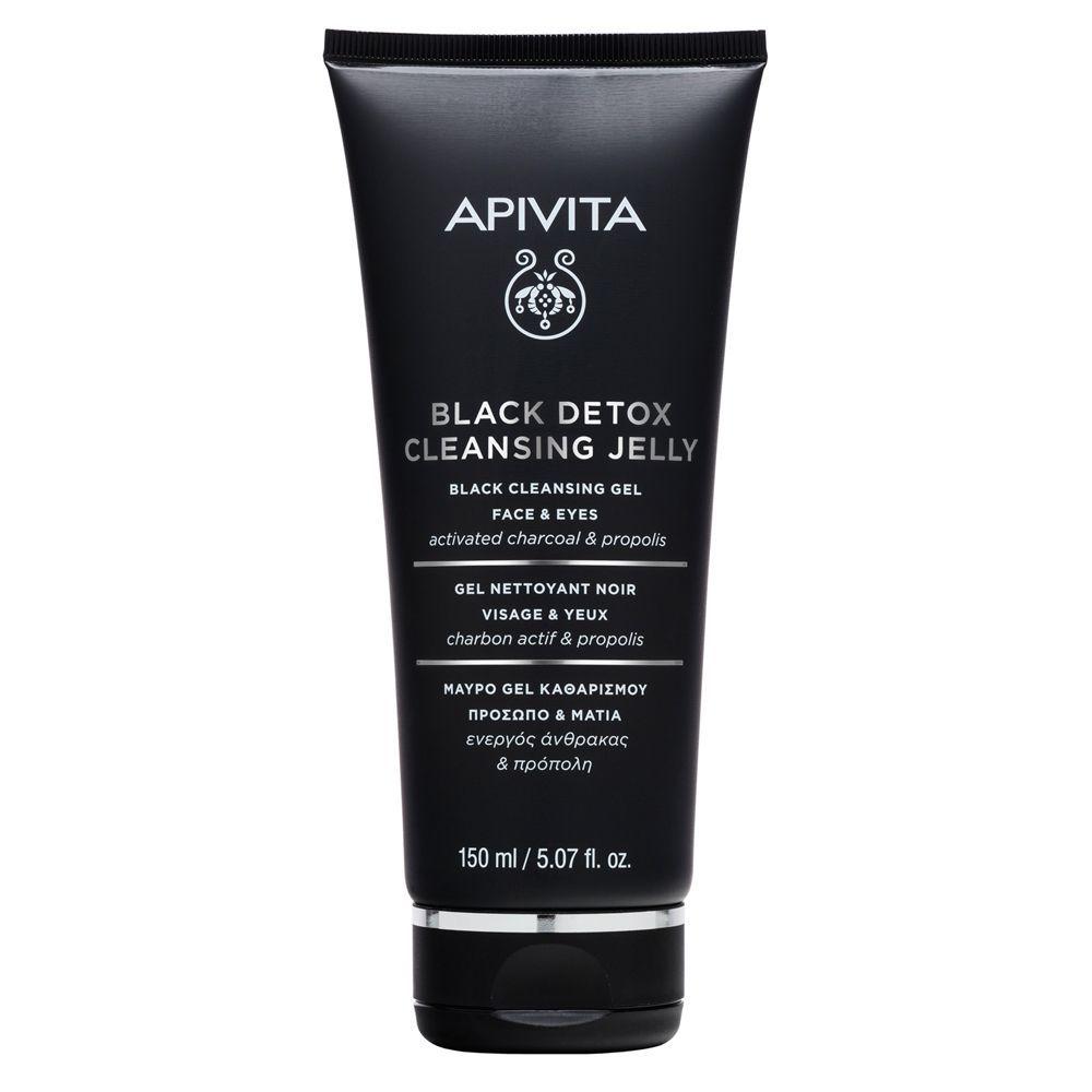 Black detox Cleansing Jelly de Apivita.