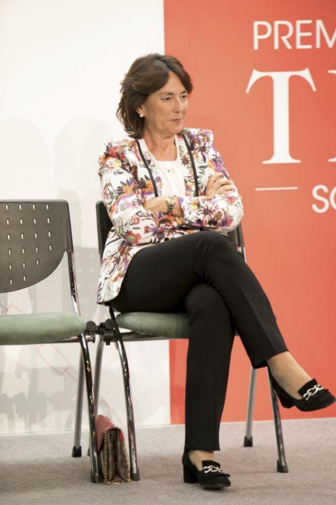 María del Pino durante la entrega de Premios TELVA Solidaridad