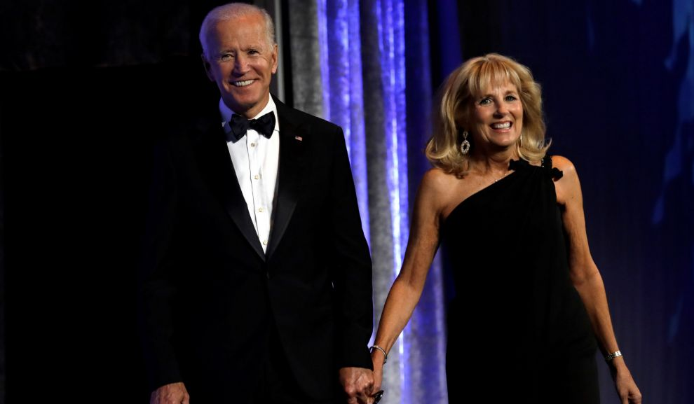 Jill y Joe Biden en Washington (2018).