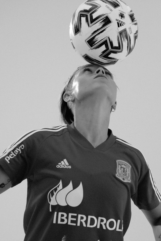 Amanda Sampedro es internacional con la Selección Española absoluta.