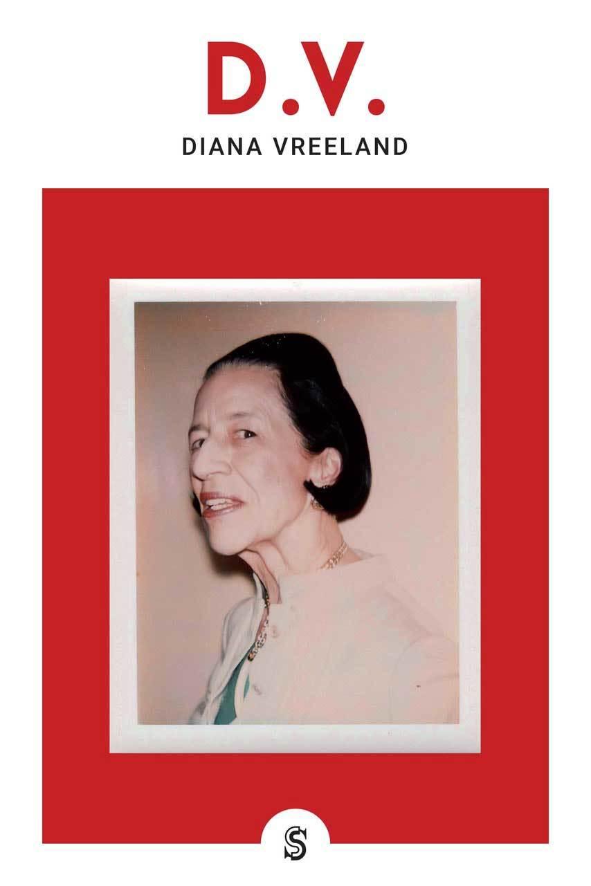 Cobertura del libro Diana Vreeland (editorial Superflua)