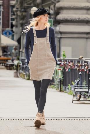 La pana es  uno de los tejidos tendencia este otoño/invierno y aquí...