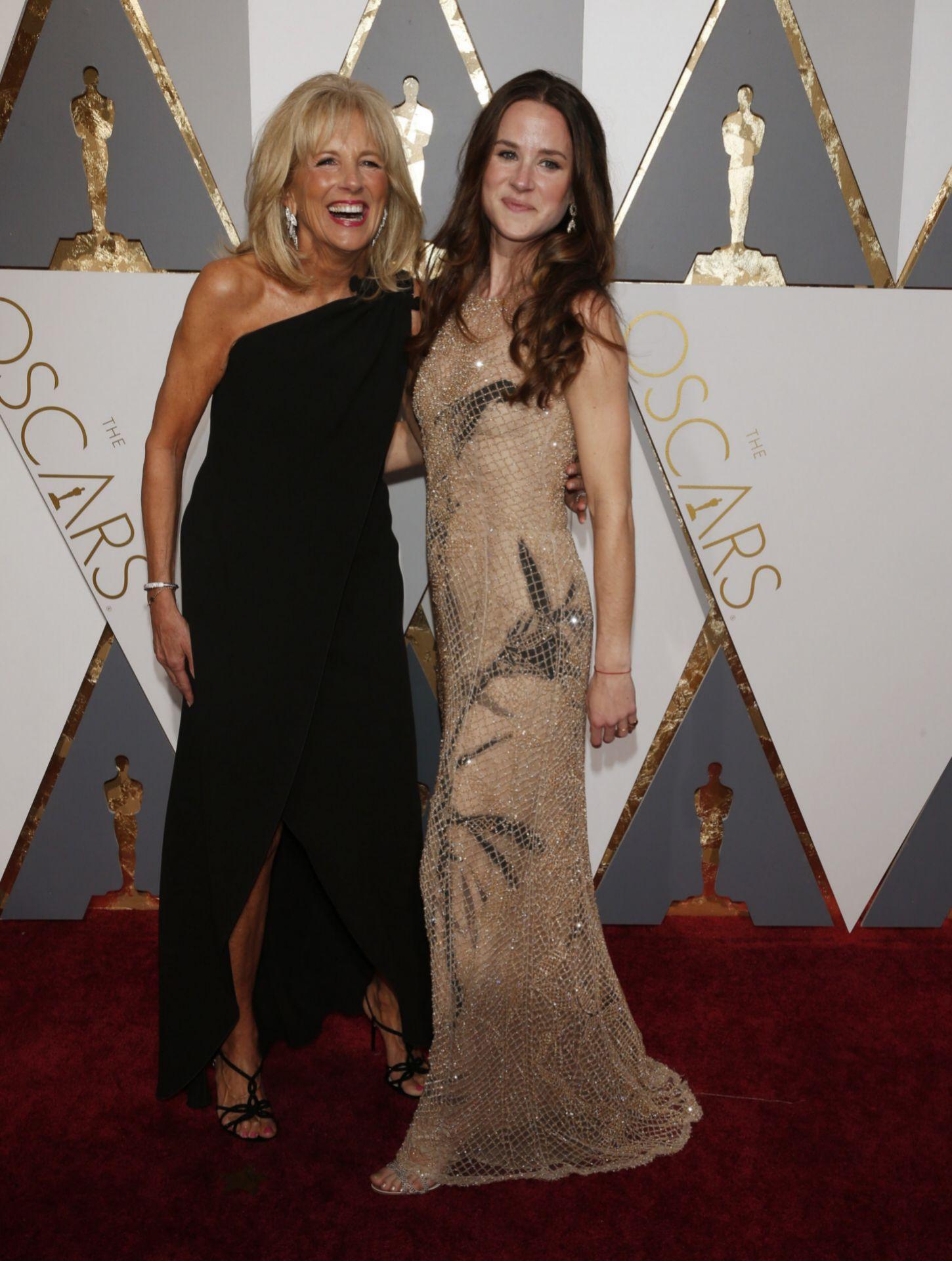 Ashley Biden con su madre Jill.