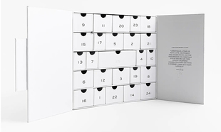 Calendario de adviento de Zara.