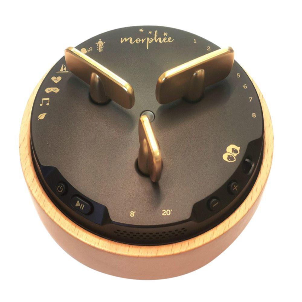 Morphée, el dispositivo de meditación y sofrología ideal contra el insomnio y los trastornos del sueño.