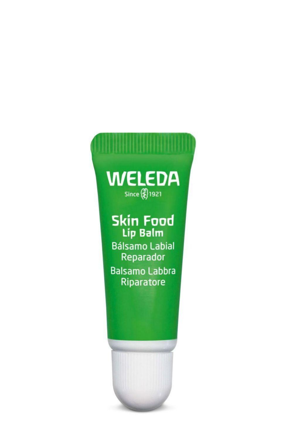 Skin Food Lip Balm, Weleda. Reparación intensiva para los labios (4,95 euros).