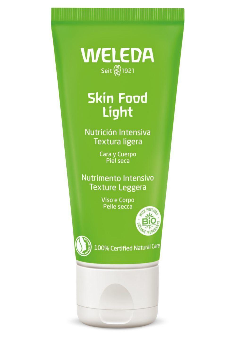 Skin Food Light, Weleda. Versión más ligera de la fórmula original para una absorción ultra rápida (30 ml: 9,95 euros).  9,95