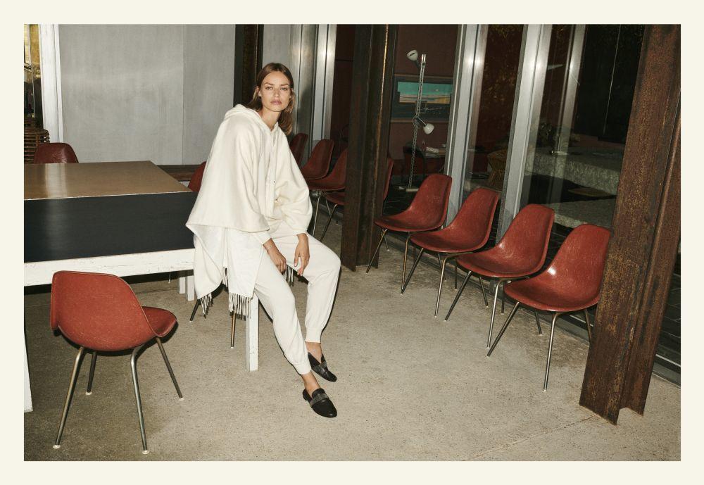 La modelo Birgit Kos, fotografiada por Quentin de Briey, protagoniza...