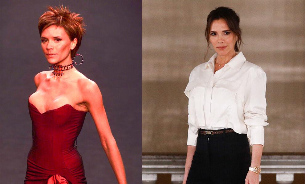 Victoria Beckham y otras celebrities que acertaron con sus cambios de...