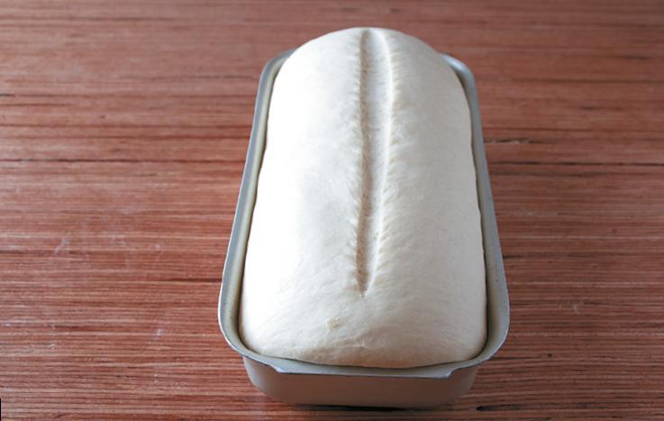 Masa para pan de molde.