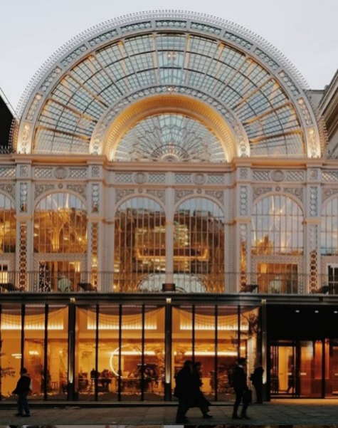 Fachada de The Royal Opera House