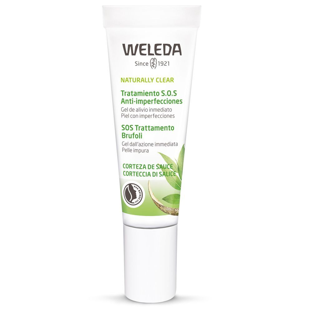 Tratamiento SOS Anti-Imperfecciones Naturally Clear de Weleda (11,95 euros).
