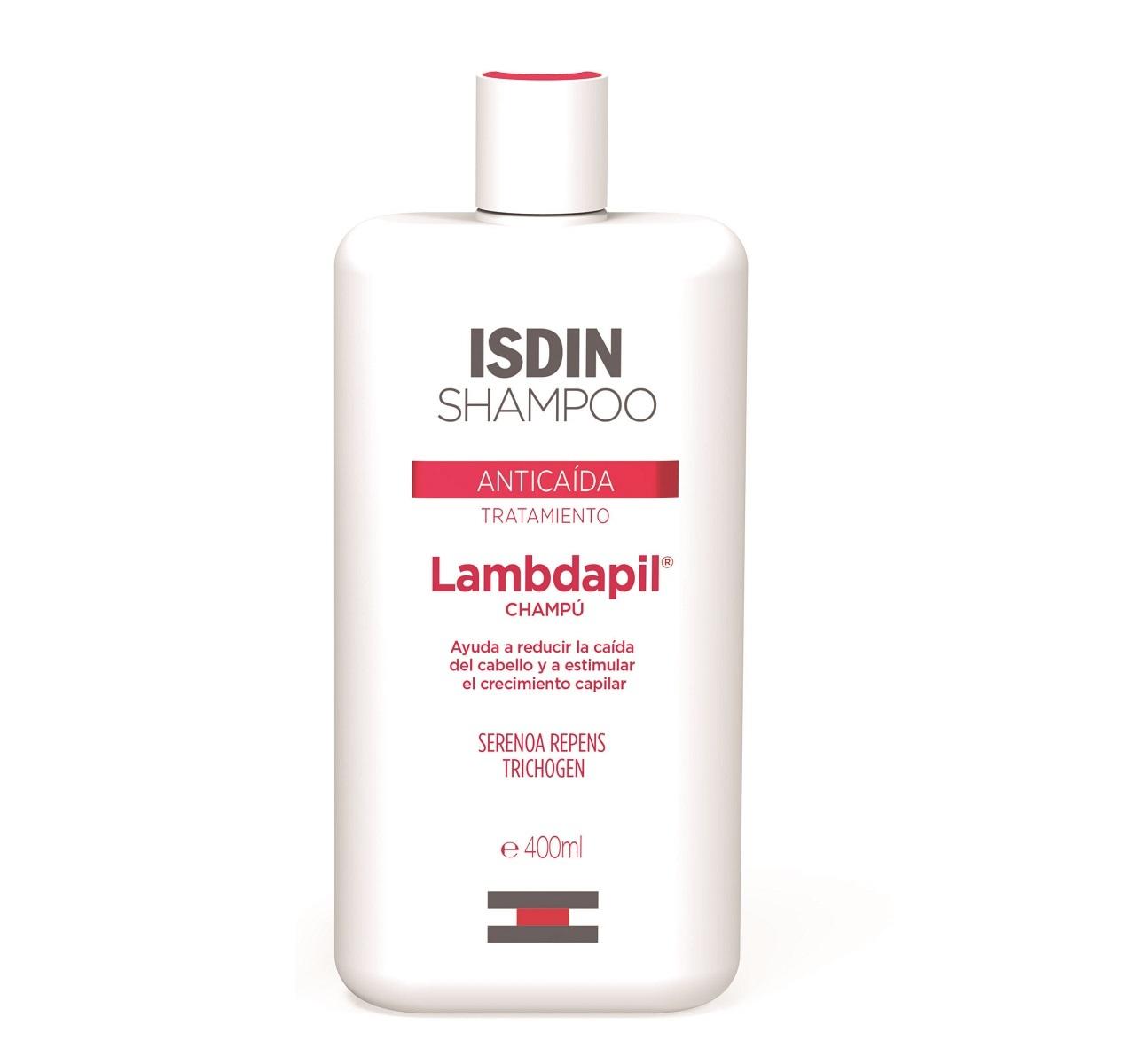 Champú Anticaída Lambdapil de Isdin, ayuda a prevenir y frenar la...