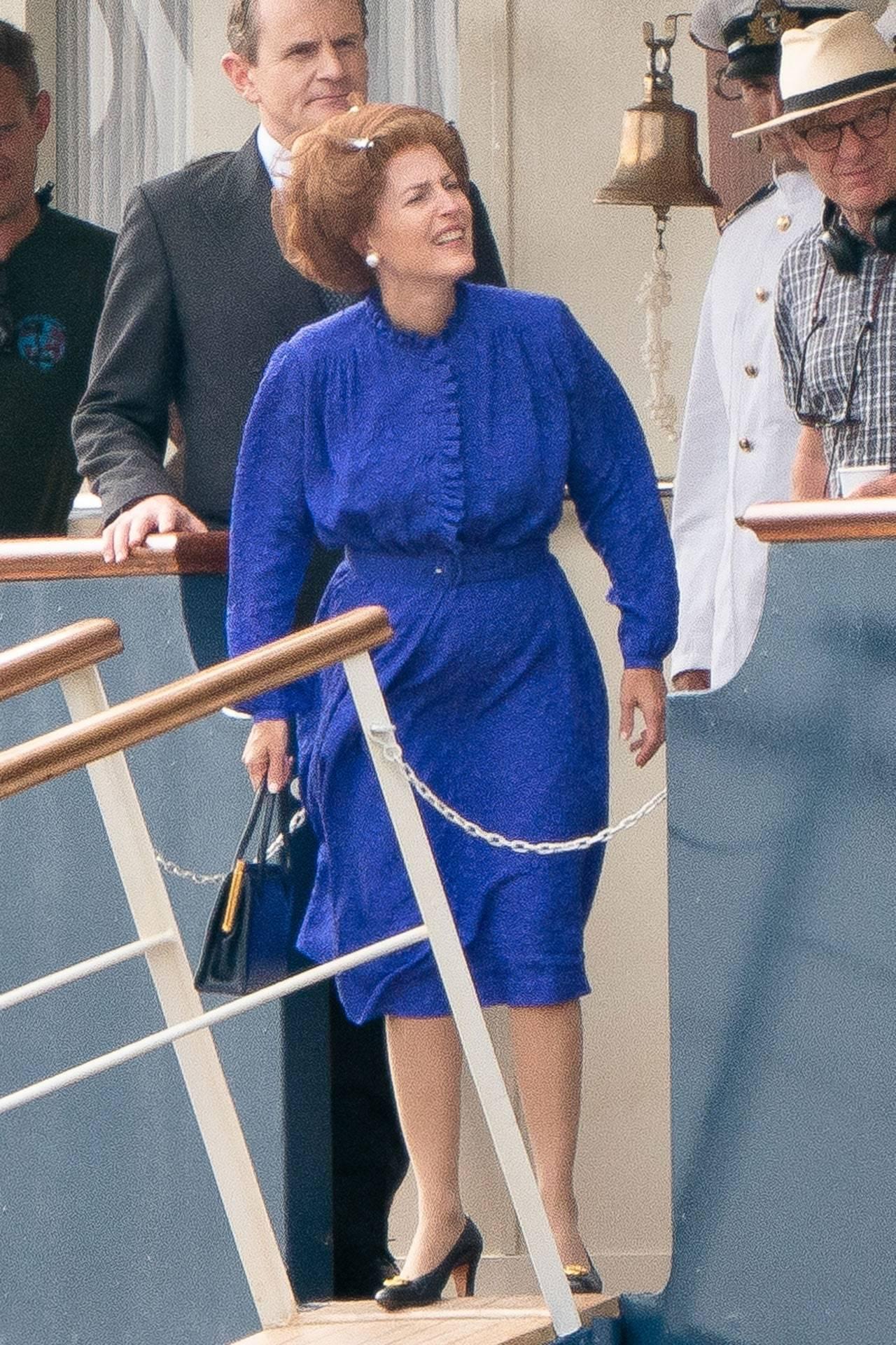 Margareth Thatcher en The Crown.