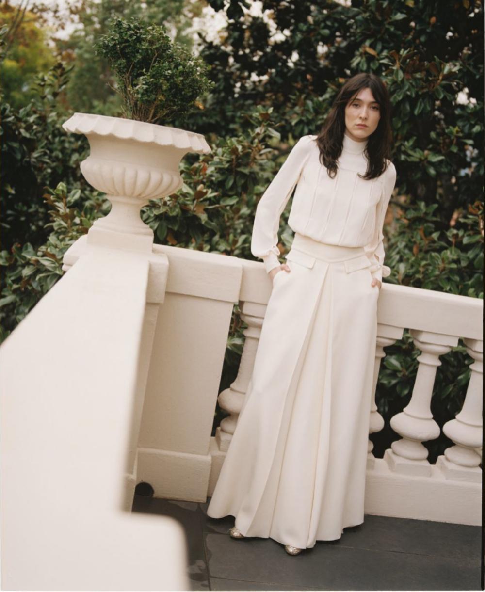 Uno de los modelos de novia de la colección cápsula de Teresa...