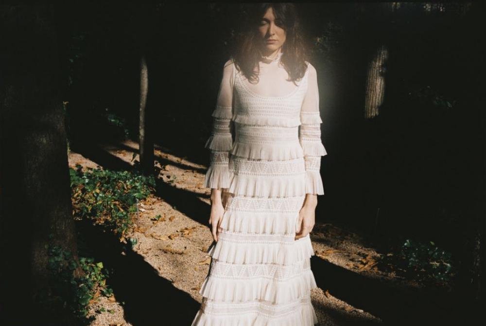 Vestido de novia de la colección primavera-verano 2021 de Teresa Helbig.